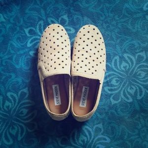 Steve Madden woman's 6.5 taupe loafers